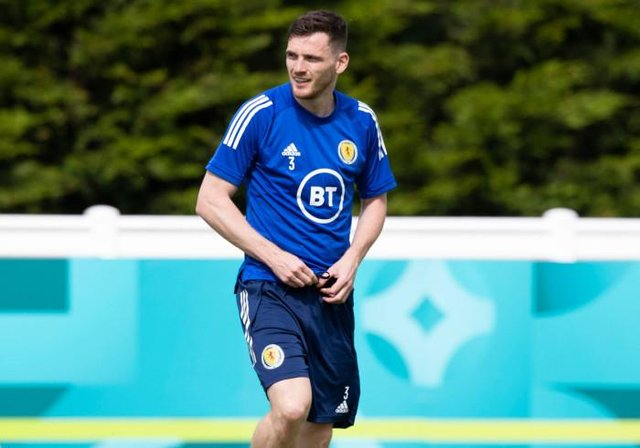 Scotland captain Andy Robertson said he and his teammates were