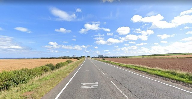 A road traffic collision on the A1 north of Torness has happened this morning, March 27 (Photo: Google Maps).