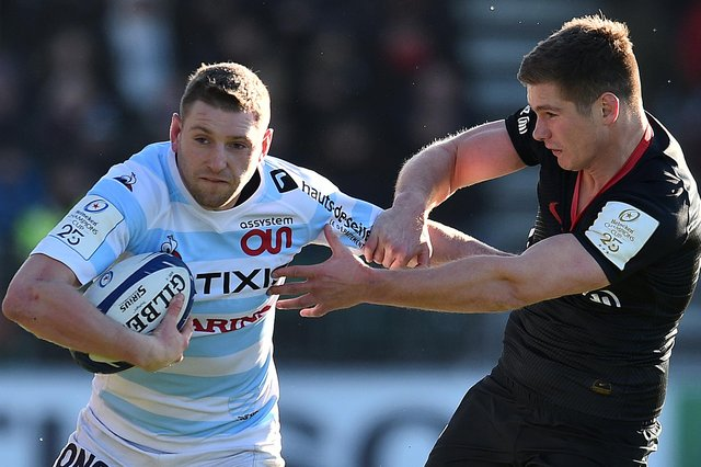 Finn Russell can provide imagination and flair for the Lions while Owen Farrell is a reliable goalkicker. Picture: Glyn Kirk/AFP via Getty Images