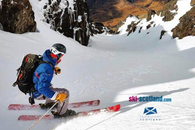 On the cover of this year's Scottish Ski & Board: Scott Muir, enjoying some down-time on the Isle of Skye PIC: Hamish Frost