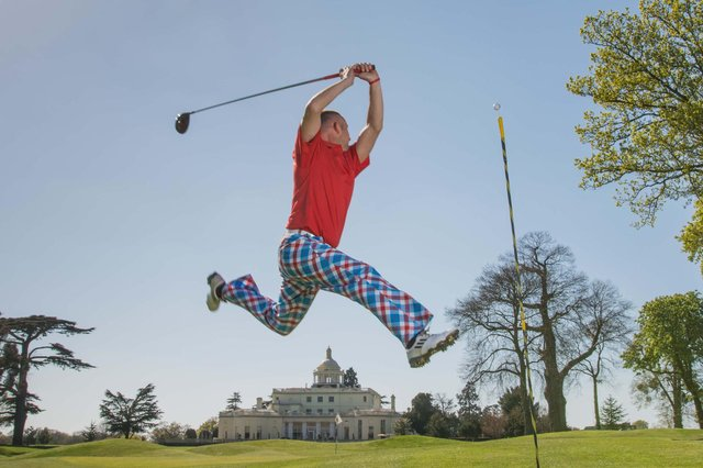 Royal & Awesome is the Edinburgh-based purveyor of spectacular golf trousers – designed for the pars and the bars.