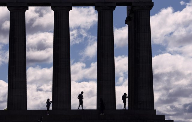 The exhibition will feature contemporary plans drawn up by architect Charles Robert Cockerell for the National Monument. Picture: Oli Scarff/AFP/Getty