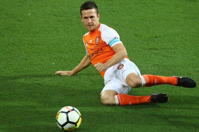 Matt McKay had two spells with Brisbane Roar - the first under Ange Postecoglou.  (Photo by Chris Hyde/Getty Images)