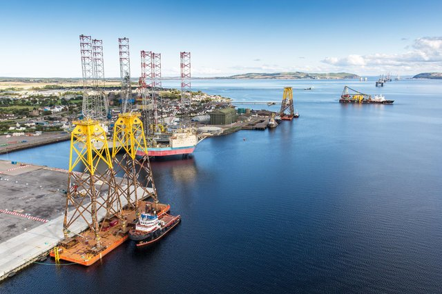The partnership will provide a security of supply for the Cromarty Firth's own plans for a largescale electrolyser facility, and will guarantee green hydrogen to those who want access to the clean energy by mid-2023, so they have the confidence to make concrete plans to begin switching their infrastructure. Picture: Stratos UAS Ltd
