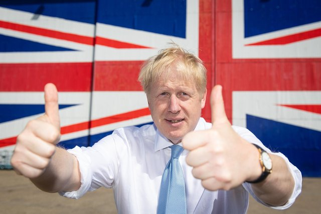 Despite Boris Johnson's typical optimism, ordinary people will have to face the harsh reality of Brexit, says Kenny MacAskill (Picture: Dominic Lipinski/WPA pool/Getty Images)