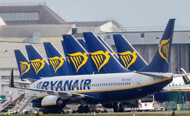 British Airways and Ryanair investigated over refunds during the pandemic. (Photo by PAUL FAITH/AFP via Getty Images)