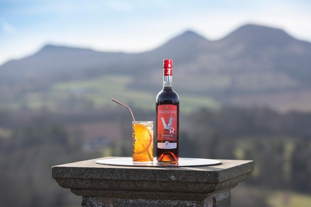 Valentian Vermouth is billed as uniting Scottish craft distilling and Italian viticulture. Picture: Kirsty Anderson.