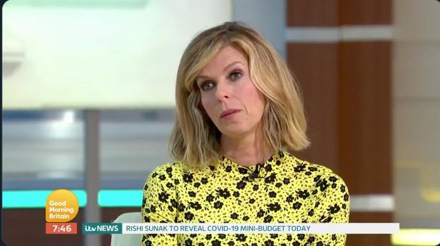 Good Morning Britain Host Kate Garraway Reveals Condition Of Her Covid 19 Positive Husband The Scotsman