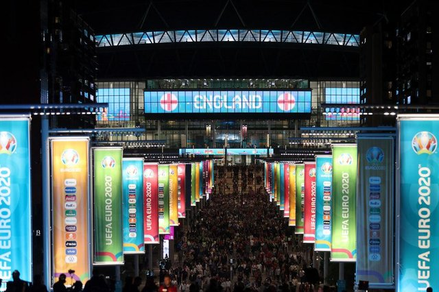 Wembley hosts Sunday's final. (Photo by Alex Pantling/Getty Images)