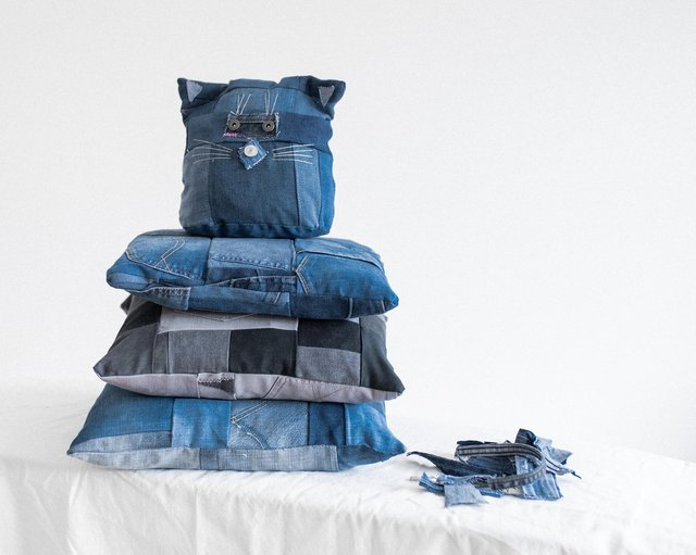 Arkdefo make a range of clothing and accessories out of reworked denim picture: Arkdefo