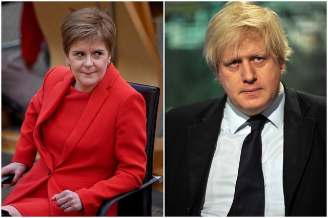 The First Minister requires the approval to hold a second referendum