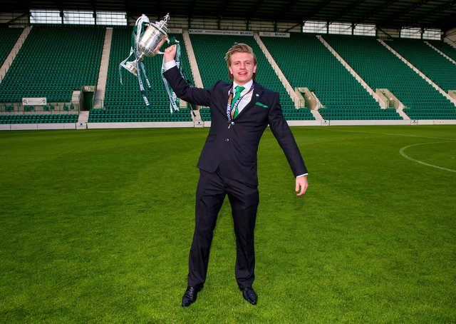 Winning the Scottish Cup with Hibs in 2016 was a career highlight for Jason Cummings.