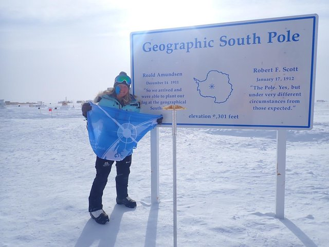 Hughes has found that people understand her Antarctic isolation experience far better than she expected. Picture: contributed.