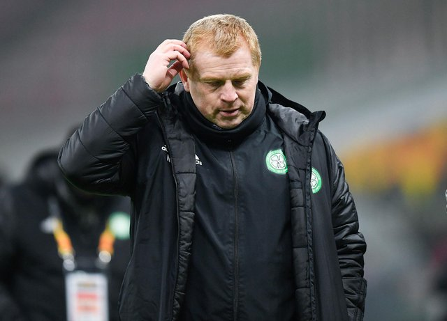 Neil Lennon is down but not yet out at Celtic. (Photo by Giuseppe Maffia / SNS Group)