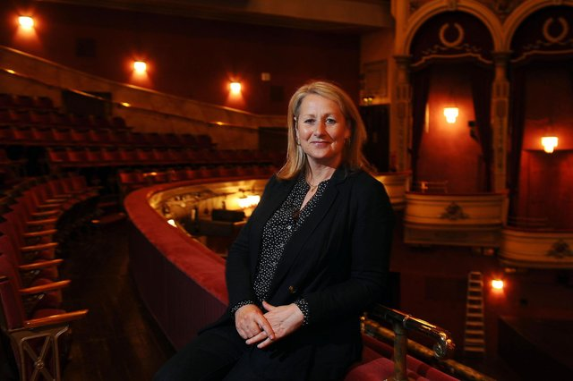 Linda Hogg, head of customer service and front of house, at the Festival Theatre