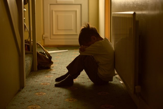 With no school, victims of child abuse may be more difficult to identify and help (Picture: Getty Images/iStockphoto)