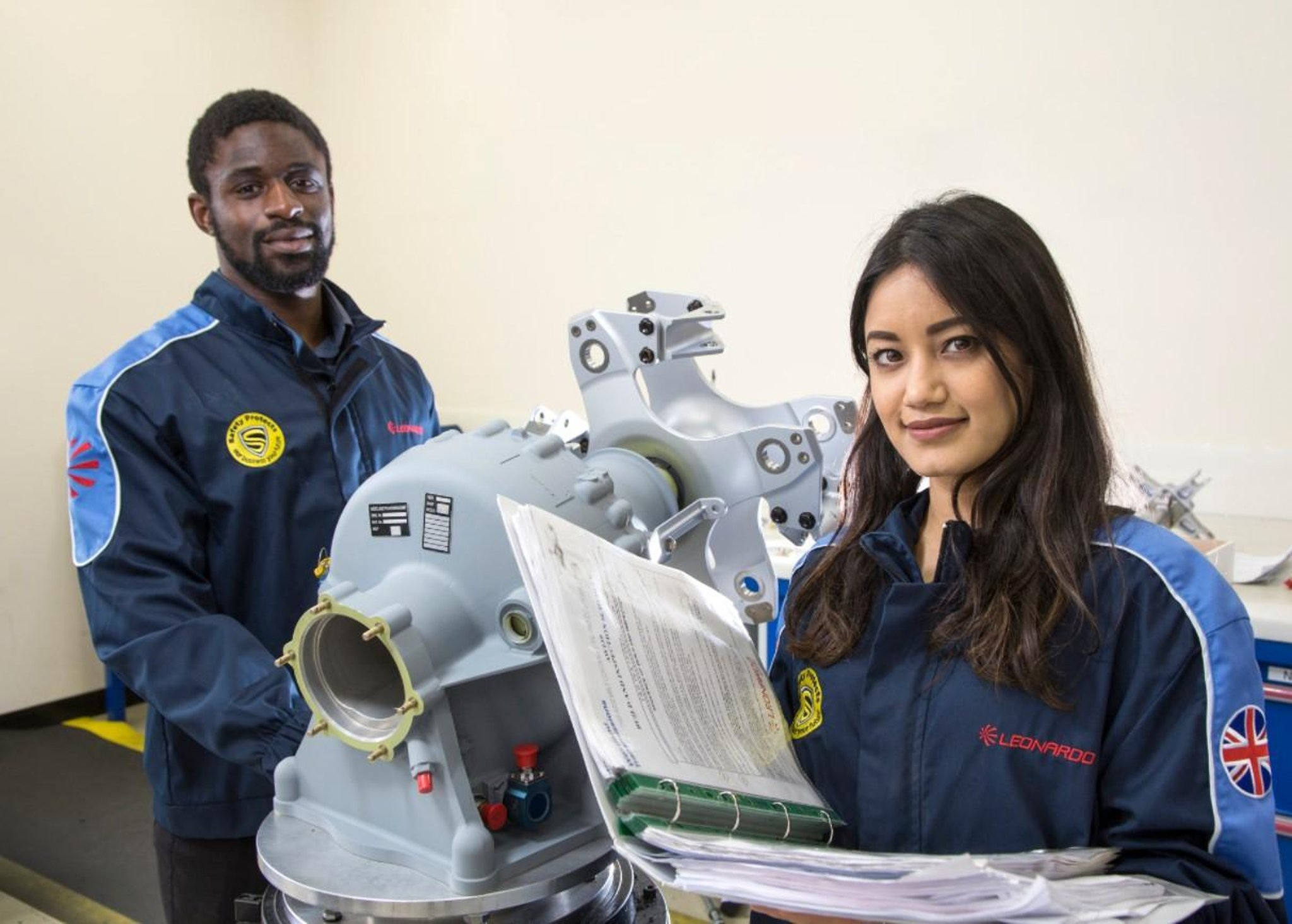Major Edinburgh employer Leonardo hailed as a UK Business Hero of 2020