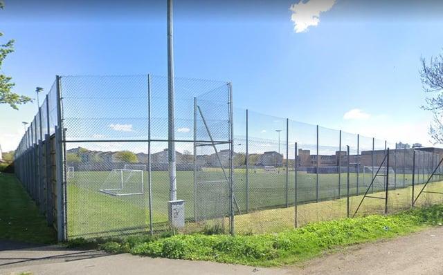 John Paul Academy football park, Arrochar Street in Glasgow.