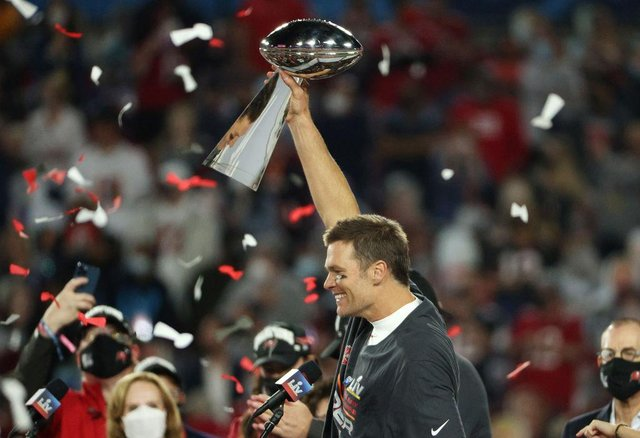At Super Bowl LV Tom Brady won his seventh Super Bowl and his first outside of New England (Getty Images)
