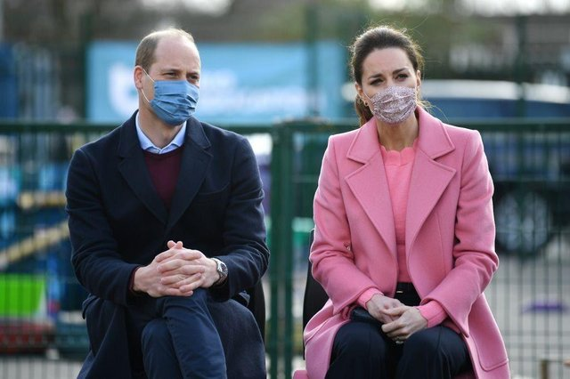 The Duke of Cambridge has paid tribute to the efforts of the NHS.