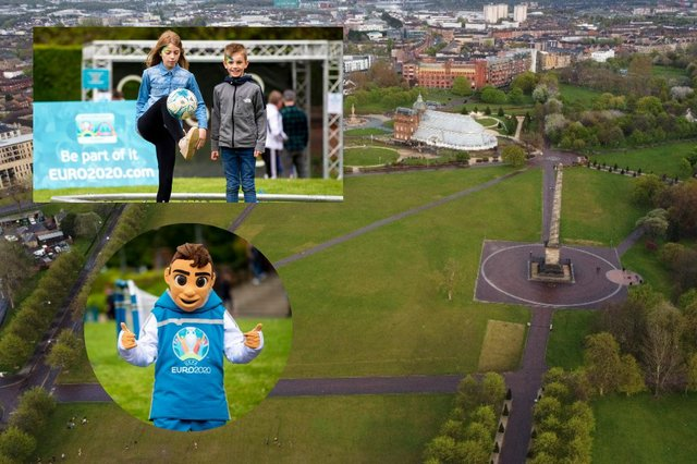 Plans for Glasgow fan zone to go ahead Covid permitting picture: Jeff Holmes