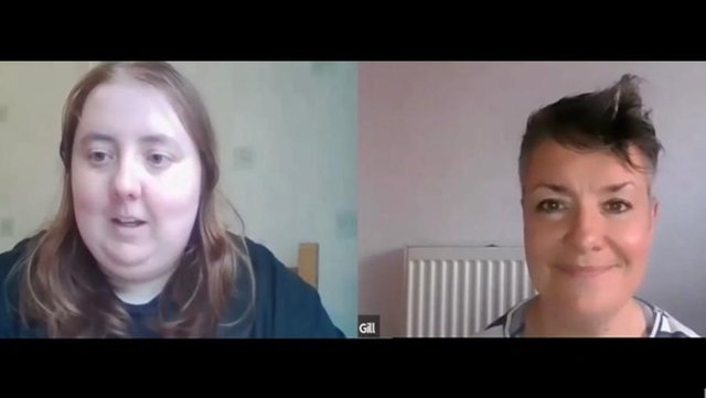 Emma McCaffrey and Gill Robertson in Emma & Gill