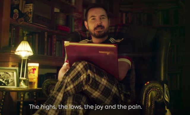'This is the story about the journey of a nation': Watch as Martin Compston eases Scotland's Euro 2020 nerves with a story