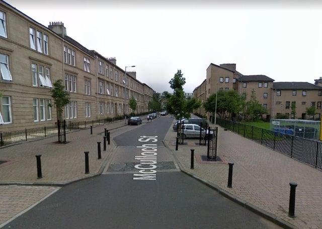 McCulloch Street, Pollokshields (Photo: Google Maps).