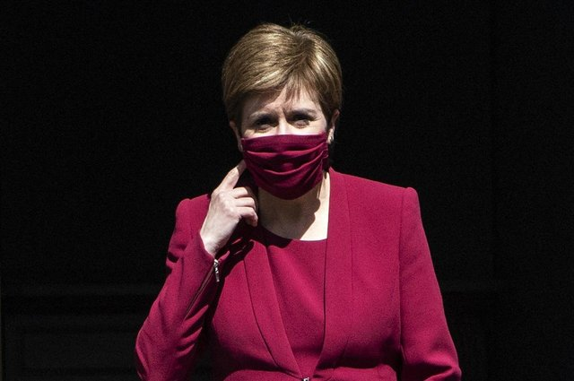 First Minister Nicola Sturgeon (Photo: Andy Buchanan).