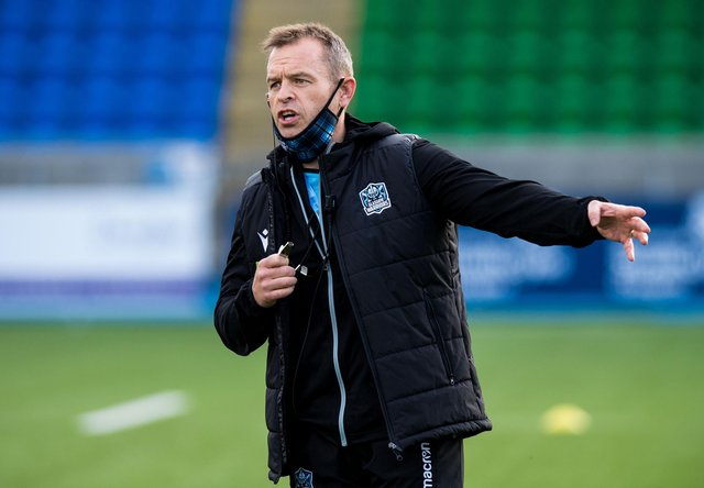 Glasgow Warriors head coach Danny Wilson has been linked with Harlequins. Picture: Ross Parker/SNS
