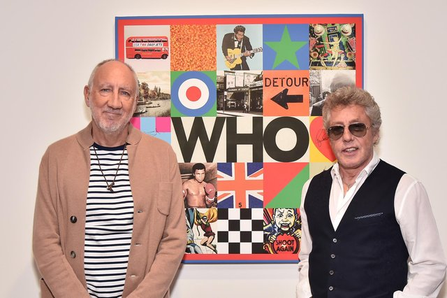 Pete Townshend, left, and Roger Daltrey of The Who, seen in 2019 (Picture: Theo Wargo/Getty Images for PolydorRecords)