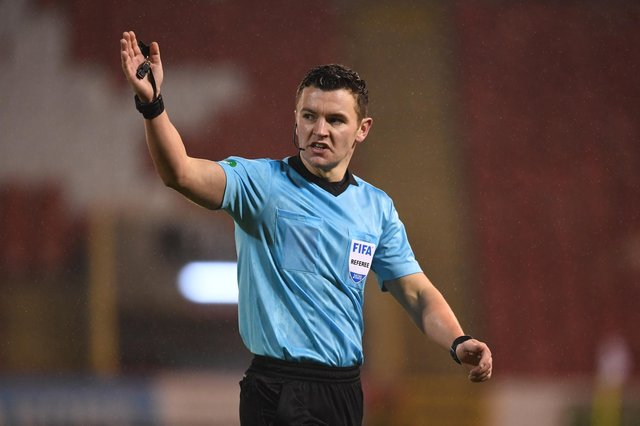 Nick Walsh will take charge of his first ever Old Firm clash this weekend. Picture: SNS