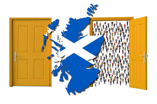 Are people in Scotland welcoming of immigrants? (Graphic: Kim Mogg/JPI Media)