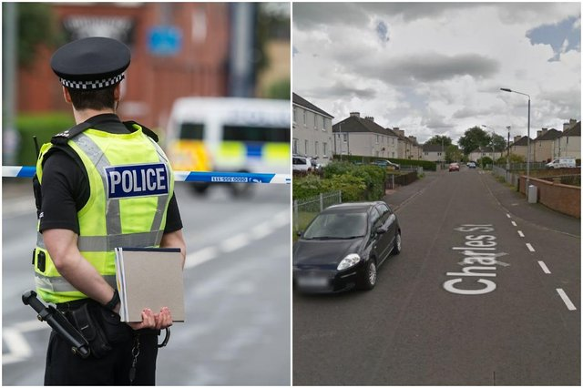 A teenager died after he suffered serious injuries at an address in Charles Street area of Craigneuk