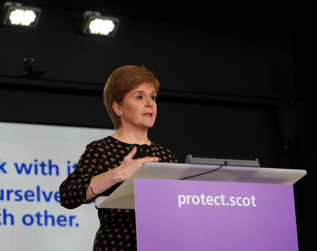 Nicola Sturgeon has said she takes responsibility for the policy decisions around care homes and Covid-19