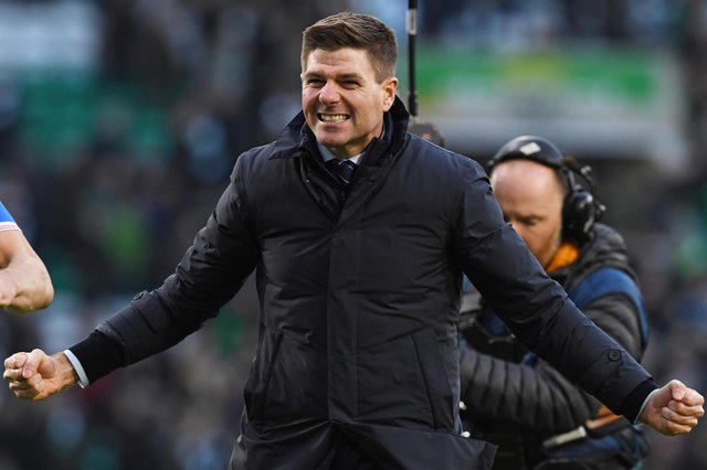 Rangers manager Steven Gerrard is closing in on his first trophy as boss at Ibrox. Picture: SNS