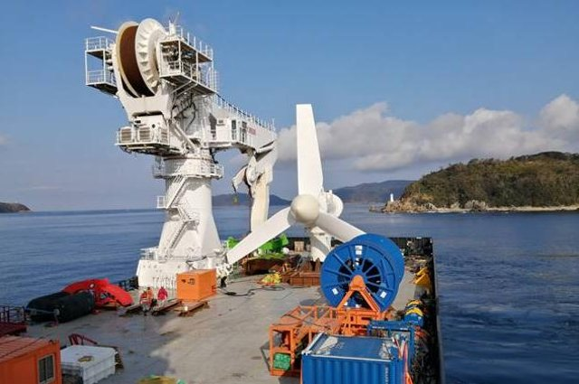Simec Atlantis Energy has achieved another tidal milestone with the installation and successful generation of its tidal turbine in Japan.