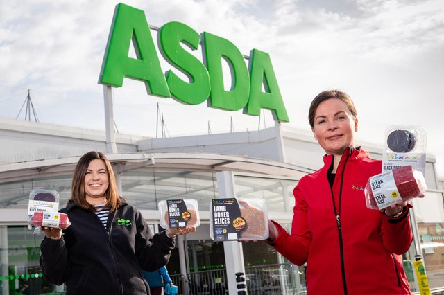 Heather Turnbull, Asda regional buying manager, and Carlyn Paton of We Hae Meat. Picture: Ian Georgeson Photography