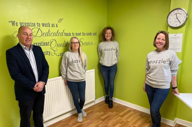 Directors at Dazzle & Inkspot - which says employee ownership was 'without doubt the best way to move the business forward'. Picture: contributed.