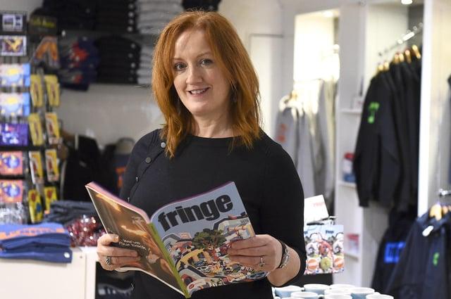 Shona McCarthy is chief executive of the Edinburgh Festival Fringe Society. Picture: Lisa Ferguson