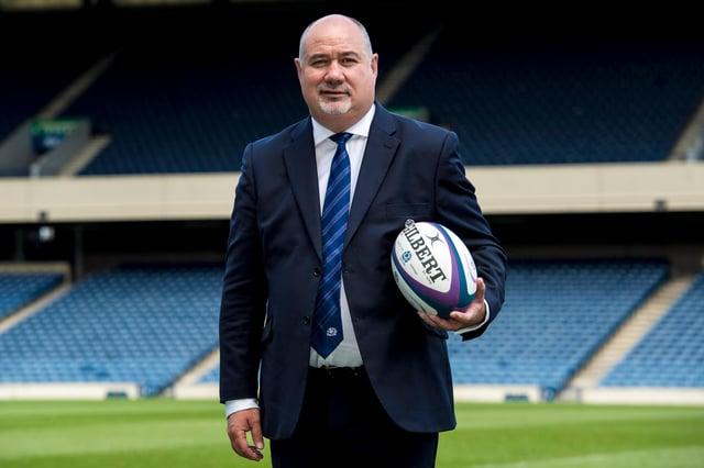 Scottish Rugby Union chief executive Mark Dodson.
