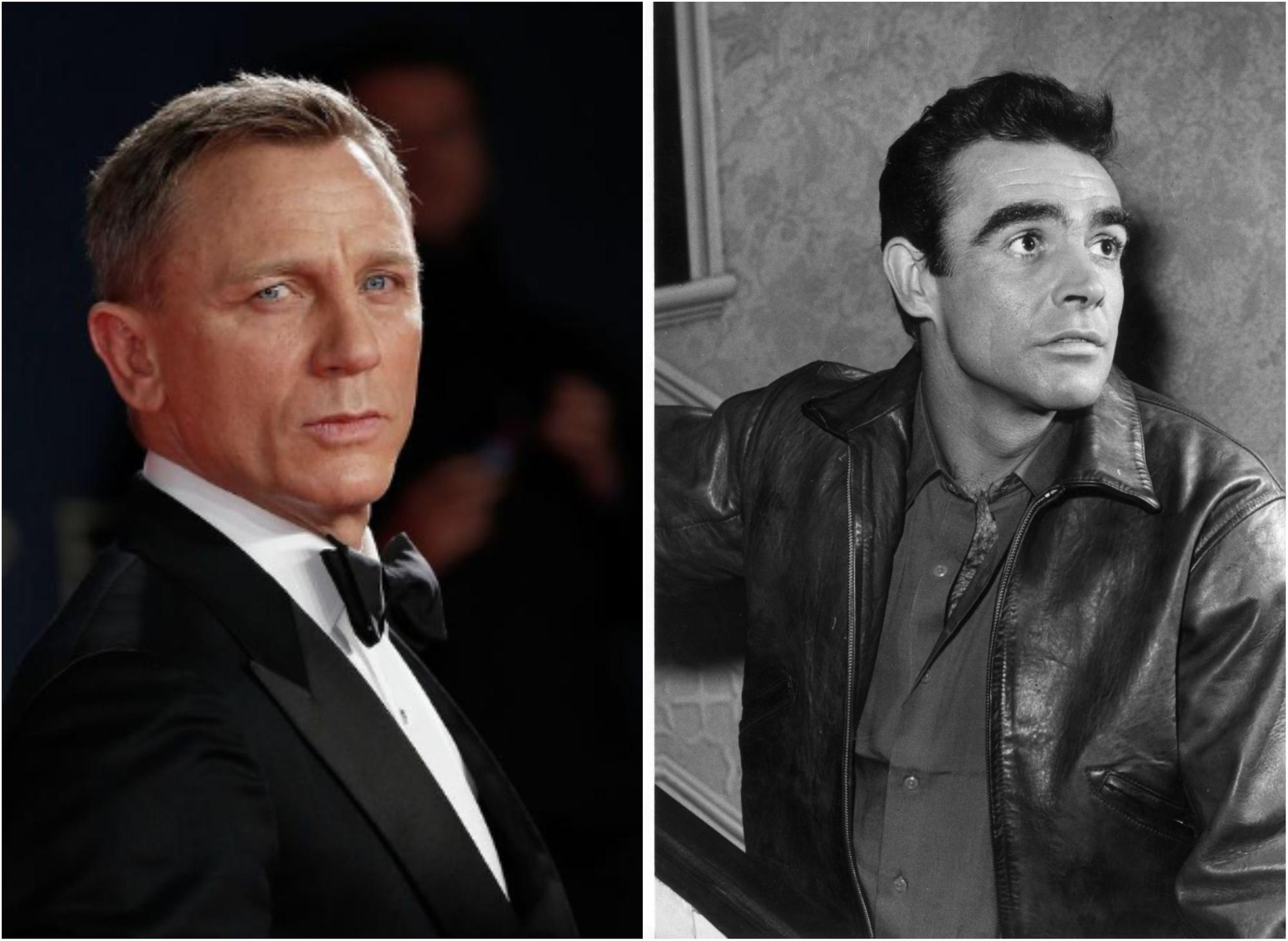 Current Bond Daniel Craig pays tribute to the legendary Scottish actor Sean Connery