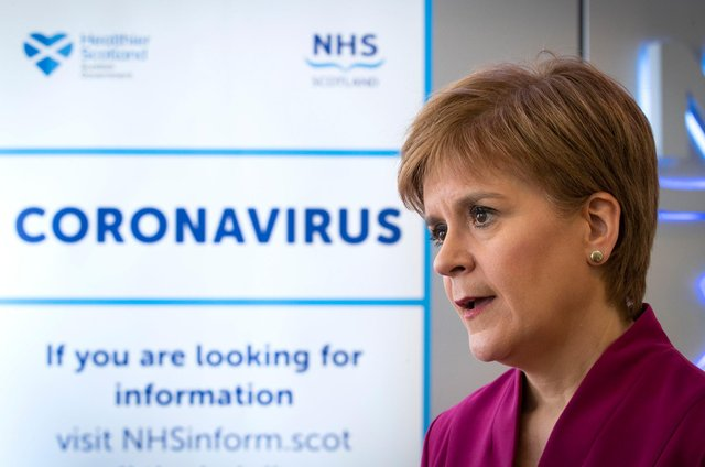 Nicola Sturgeon needs to agree to a Scottish public inquiry into the country's Covid response (Picture: Jane Barlow-Pool/Getty Images)