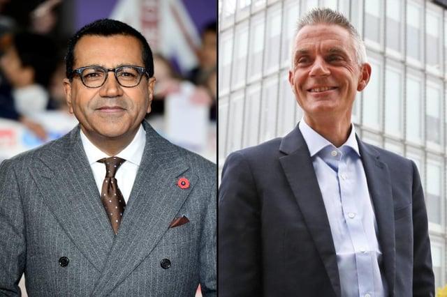 Martin Bashir and BBC boss Tim Davie