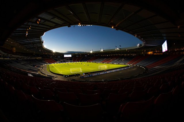 Hampden is due to host four Euro 2020 matches.