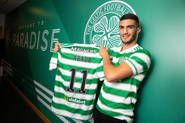 Celtic unveil new signing Liel Abada at Celtic Park. Picture: SNS
