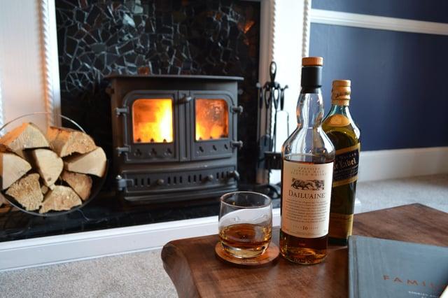 Enjoy a dram in the Whisky snug