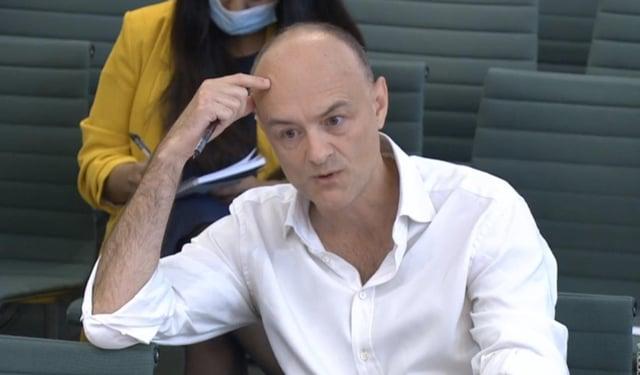 "Dominic Cummings claimed the Prime Minister had dismissed coronavirus as the new ""swine flu""."