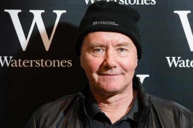 Edinburgh author Irvine Welsh is a noted Hibs fan. Picture: SNS