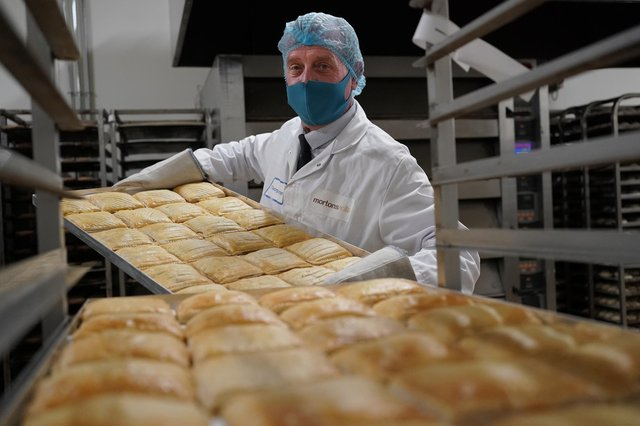 Mortons says its new savoury line is part of its commitment to diversifying its range and business growth. Picture: Stewart Attwood.